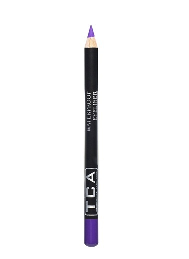 Tca Studio Make Up Waterproof Eyeliner - Purple Mor